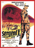 Action Adventure Thrillers SERGEANT X OF THE FOREIGN LEGION