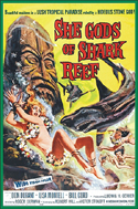 Action Adventure Thrillers SHE GODS OF SHARK REEF