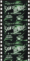 Action Adventure Thrillers SIGN OF THE WOLF*