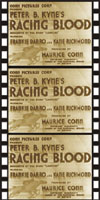 Action Adventure Thrillers RACING BLOOD*