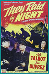 Action Adventure Thrillers THEY RAID BY NIGHT