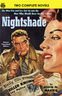Armchair Fiction NIGHTSHADE & ONCE IS ENOUGH