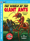 Armchair Fiction WORLD OF THE GIANT ANTS, THE, Illustrated Edition