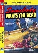 Armchair Fiction SOMEBODY WANTS YOU DEAD & THE BLACK KEY