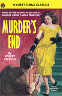 Armchair Fiction MURDER'S END