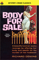 Armchair Fiction BODY FOR SALE