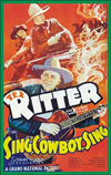 Westerns B WESTERN COLLECTIONS, TEX RITTER, Vol. 4