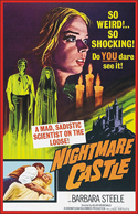 Horror NIGHTMARE CASTLE—Anamorphic Widescreen Edition