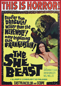 Horror SHE BEAST, THE—Anamorphic Widescreen Edition