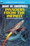 Armchair Fiction INVADERS FROM THE INFINITE, Special Illustrated Edition
