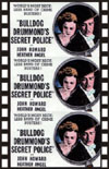 Mystery BULLDOG DRUMMOND'S SECRET POLICE*