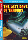 Armchair Fiction LAST DAYS OF THRONAS & THE GODDESS OF WORLD 21
