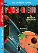 Armchair Fiction PLANET OF EXILE & BRAIN TWISTER