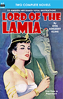 Armchair Fiction LORD OF THE LAMIA & THE WAR OF THE UNIVERSE