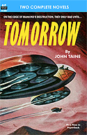 Armchair Fiction TOMORROW & MARTIAN AND TROGLODYTE