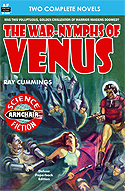 Armchair Fiction WAR-NYMPHS OF VENUS & SPACE PRISON