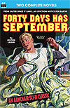 Armchair Fiction FORTY DAYS HAS SEPTEMBER/ THE DEVIL'S PLANET