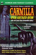 Armchair Fiction CARMILLA, Special Illustrated Edition