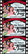 Edgar Wallace RETURN OF THE FROG*