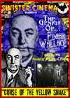 Edgar Wallace CURSE OF THE YELLOW SNAKE*