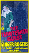 Forgotten Horrors THIRTEENTH GUEST, THE*