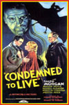 Horror CONDEMNED TO LIVE*