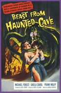 Horror BEAST FROM HAUNTED CAVE—Anamorphic Widescreen Edition