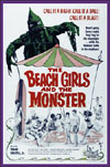Horror BEACH GIRLS AND THE MONSTER*