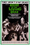 Horror NIGHT OF THE LIVING DEAD*