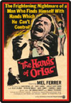 Horror HANDS OF ORLAC*