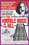 Horror HORRIBLE HOUSE ON THE HILL, THE