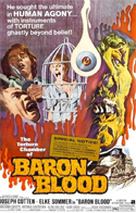Horror TORTURE CHAMBER OF BARON BLOOD, THE