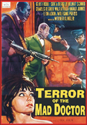 Horror TERROR OF THE MAD DOCTOR—Anamorphic Widescreen Edition
