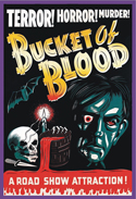 Horror THE TELL TALE HEART aka BUCKET OF BLOOD