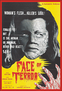 Horror FACE OF TERROR, THE—Anamorphic Widescreen Edition