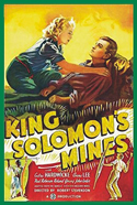 Jungle KING SOLOMON'S MINES*