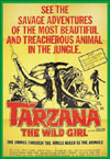 Jungle TARZANA, THE WILD GIRL*