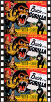 Horror BRIDE OF THE GORILLA*