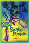 Horror SNAKE PEOPLE, THE