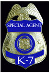 Mystery SPECIAL AGENT K-7