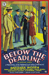 Mystery BELOW THE DEADLINE* (1936)
