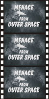 Sci Fi MENACE FROM OUTER SPACE*