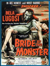 Sci Fi BRIDE OF THE MONSTER*