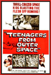 Sci Fi TEENAGERS FROM OUTER SPACE*