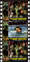 Sci Fi ATTACK OF THE GIANT LEECHES*