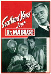 Sci Fi DR. MABUSE VS. SCOTLAND YARD*
