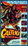 Sci Fi CALTIKI, THE IMMORTAL MONSTER*