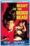 Sci Fi NIGHT OF THE BLOOD BEAST*