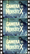 Sci Fi GAMERA VS. MONSTER X*