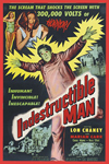 Sci Fi INDESTRUCTIBLE MAN--Special 35mm Edition
